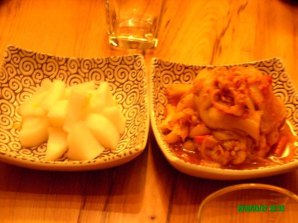 醃籮剝和泡菜