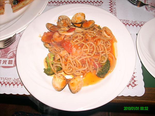 番茄茄汁義大利麵