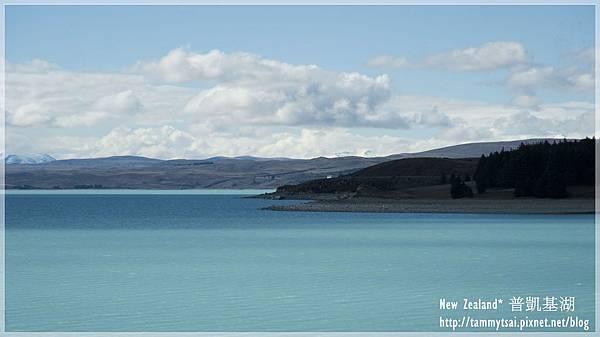 普凱基湖 lake pukaki