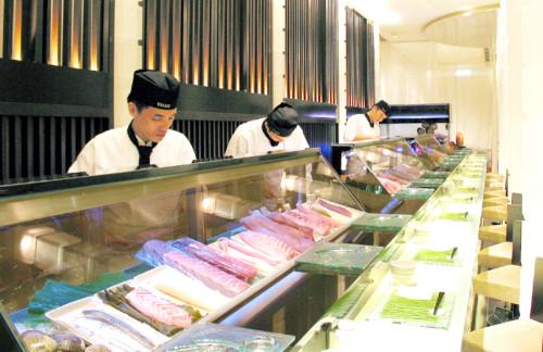 頂級壽司吃到飽。台北晶華提供