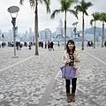 到香港了~天氣好陰..