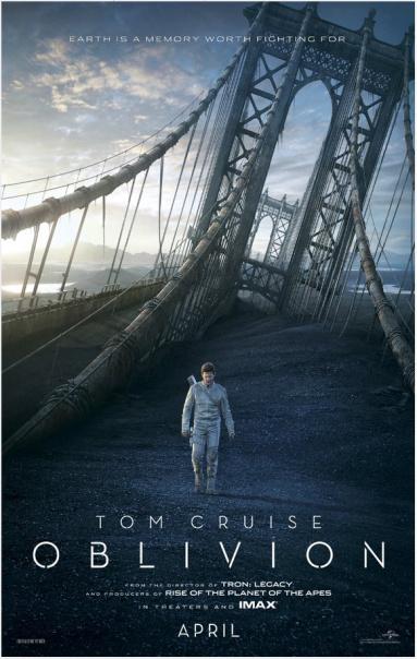 Oblivion 2013 poster