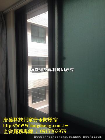 隱形鐵窗-高雄市棋琴文鼎苑 (6)