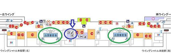 關西機場地圖