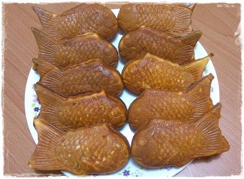 地瓜鯛魚燒