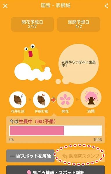 櫻花開花情報app