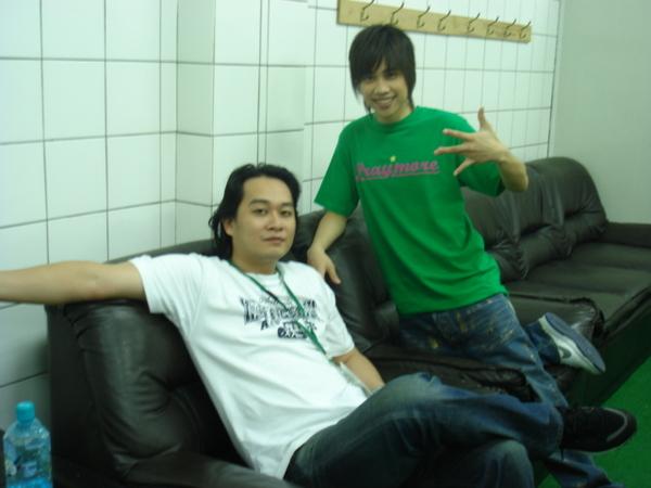 tank and 我師父