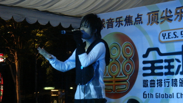 新加坡街頭暴唱