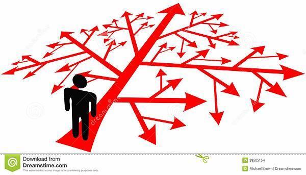 人在复杂的决定道路-39505154.jpg