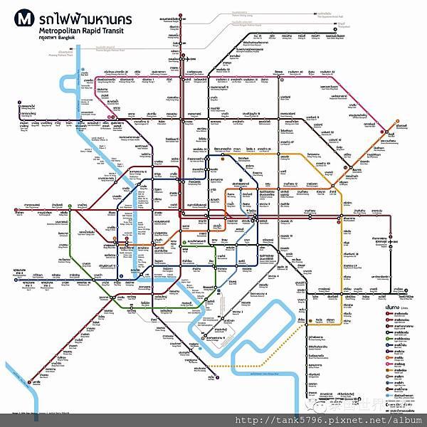 捷運網5年內復蓋,曼谷格局將徹變【泰國房地產海外投資】