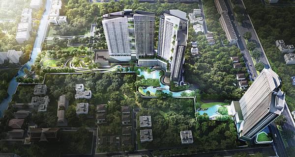 泰國曼谷高端建案 IDEO O2