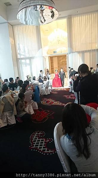 會員婚宴現場