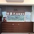 壁簾天窗簾店提供內湖區羅馬式窗簾訂做安裝.JPG