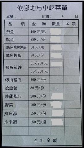 生火飛魚價目表