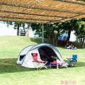 這就是我們的帳篷陣地!