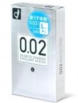 日本原裝OKAMOTO岡本 0.02EX聚氨酯 L加大超薄保險套
