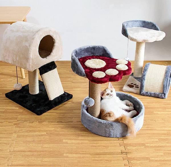 多功能貓窩遊戲間