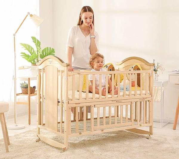 嬰兒床寶寶bb床搖籃床