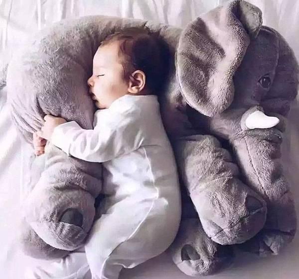 大象安撫抱枕頭毛絨玩具公仔嬰兒玩偶