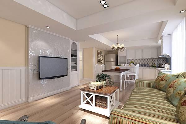 鄉村風、室內設計