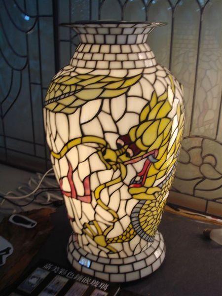 玻璃藝術燈罩.JPG