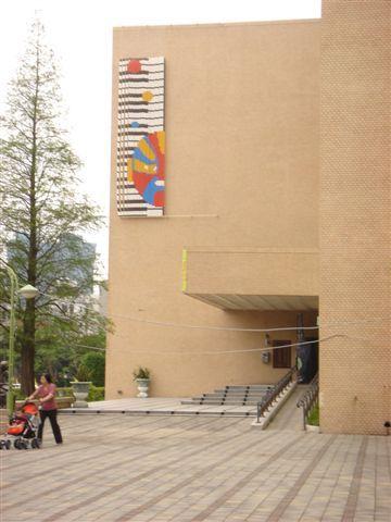 《第一季外牆裝置藝術展》-文化局正門口右側牆面.JPG