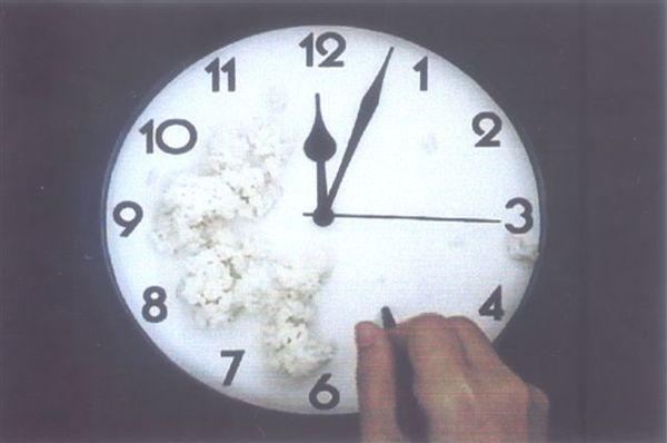 作品《時間.終》-吳雪綿jpg