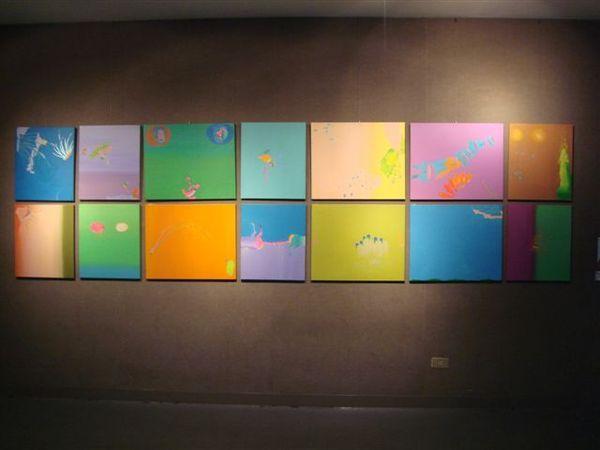 《偽山水系列》in 2展室.JPG