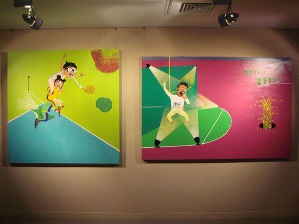 《瘋狂統治者》in 1展室.JPG