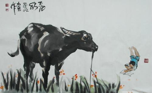 徜徉2009陳國增彩墨創作點線面--展出作品01.jpg
