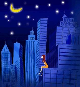 夜晚看月亮.jpg