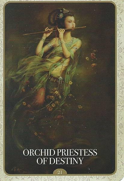 蘭花女祭司