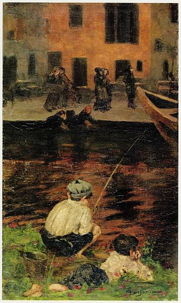 Canal_Naviglio_with_Two_Fishing_Boys.jpg