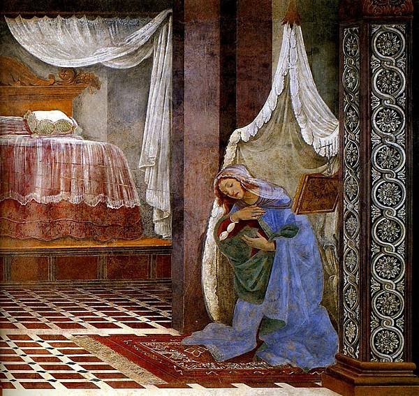 _1481__Sandro_Botticelli__Annonciation,_la_chambre_et_la_Vierge