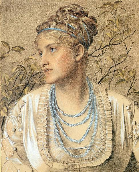 Anthony Frederick Sandys (1829-1904)-Anthony Frederick Sandys (1829-1904) Mary_Sandys