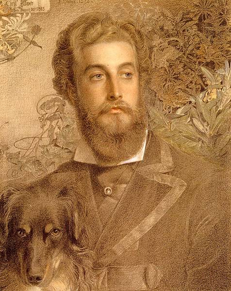 Sandys_Anthony_Frederick_Augustus_Portrait_Of_Cyril_Flower__Lord_Battersea