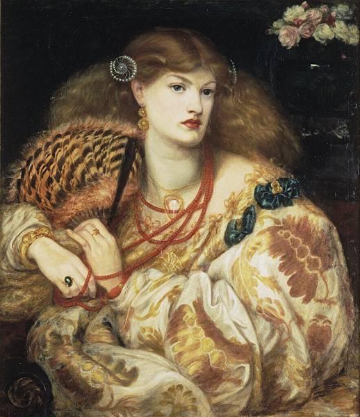 1866-Rossetti-MonnaVanna-OilonCanvas1