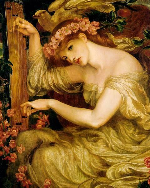 Dante Gabriel Rossetti (1828-1882)-A_Sea_Spell