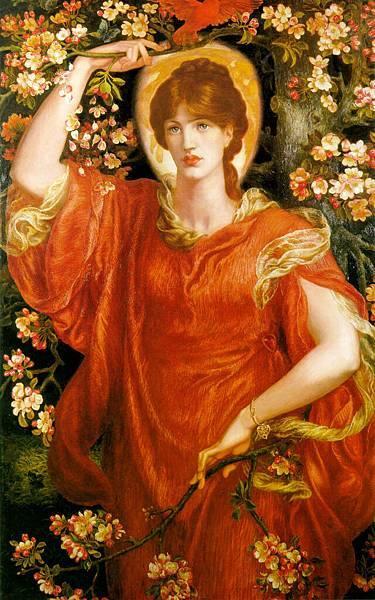 Dante Gabriel Rossetti (1828-1882)-A_Vision_of_Fiammetta