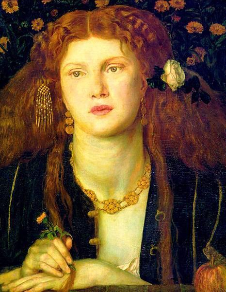 Dante Gabriel Rossetti (1828-1882)-Bocca_Baciata