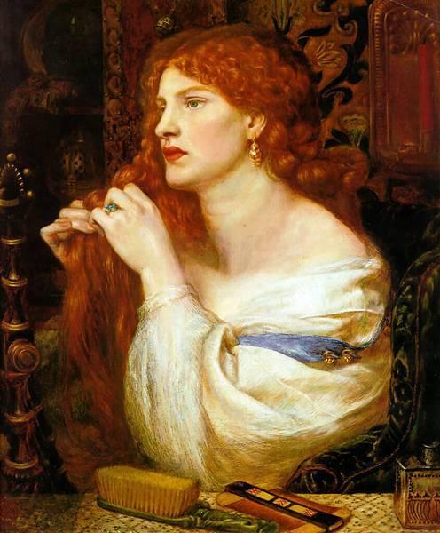 Dante Gabriel Rossetti (1828-1882)-Fazios_Mistress
