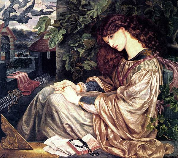Dante Gabriel Rossetti (1828-1882)-Rosetti-Pia-Tolomei