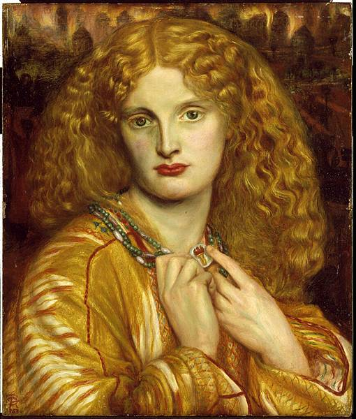Dante Gabriel Rossetti (1828-1882)-Rossetti_Dante_Gabriel_Helen_of_Troy