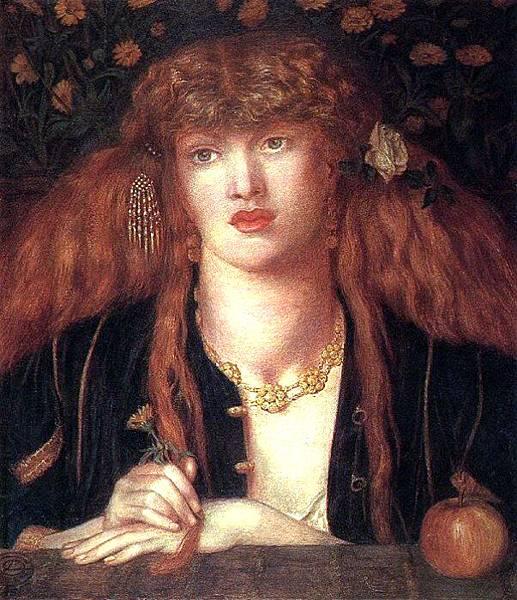 Dante Gabriel Rossetti (1828-1882)-Rossetti_Dante_Gabriel_La_Bionda_del_Balcone