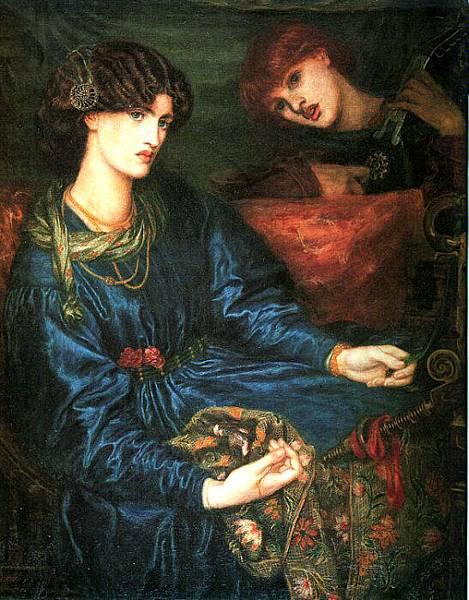 Dante Gabriel Rossetti (1828-1882)-Rossetti_Dante_Gabriel_Mariana
