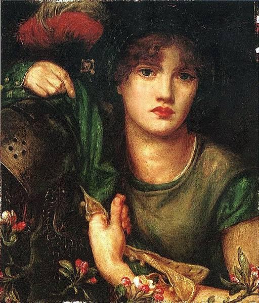 Dante Gabriel Rossetti (1828-1882)-Rossetti_Dante_Gabriel_My_Lady_Greensleeves