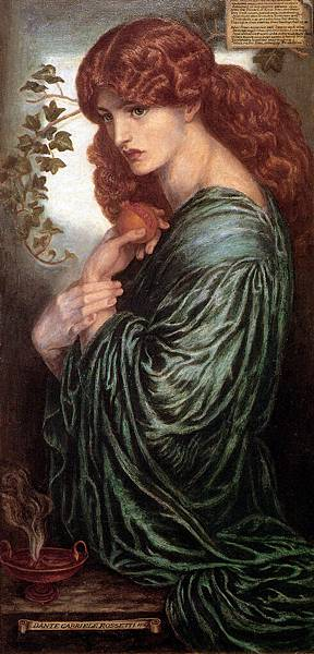 Dante Gabriel Rossetti (1828-1882)-Rossetti_Prosperine