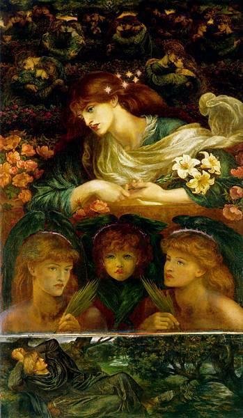 Dante Gabriel Rossetti (1828-1882)-The_Blessed_Damozel