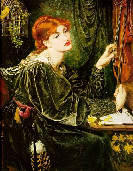 Dante Gabriel Rossetti (1828-1882)-Veronica_Veronese