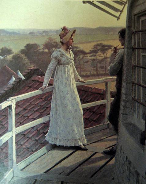 Edmund Blair Leighton (1853-1922)-Edmund_Blair_Leighton_-_The_Windmiller%27s_Guest